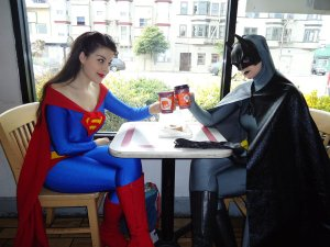 """looking for full-time superhero cosplayer"": it worked!"